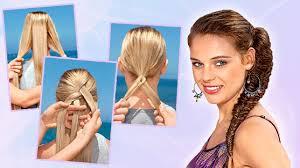 Frisuren Lange Haare Zopf by Die Besten Zopffrisuren Leicht Selber Machen Veniccede Me