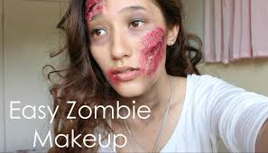 easy zombie makeup tutorial for halloween if i can do it you can
