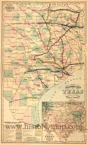 Map Of Mexico And Texas by Texas Railroad Map 1877 1878 Rpg Art Western And Deadlands