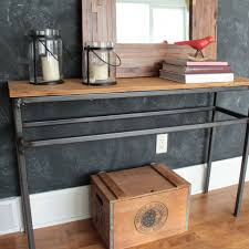 Reclaimed Wood Console Table Reclaimed Wood Console Table Fritz And Sparrow