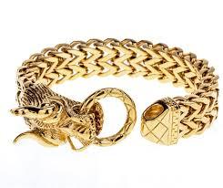 dragon bracelet gold images Men 39 s dragon bracelet chain stainless steel biker heavy jewelry jpg