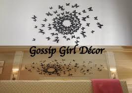 chambre gossip décoration papillons gossip