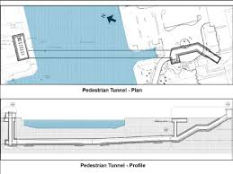 Porter Airlines Route Map by New 82 5 Million Island Airport Pedestrian Tunnel U0027a Win For