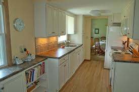 kitchen update economical solution to galley kitchen update traditional