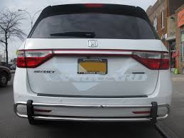2010 Honda Odyssey Cross Bars by 11 17 Honda Odyssey Rear Bar Bumper Protector Guard Double Tube Ss