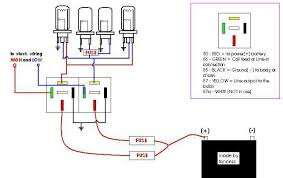 to make a headlight wiring relay kit