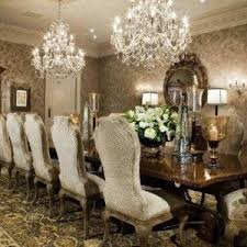 Large Crystal Chandelier Traditional Dining Room Lighting - Dining room crystal chandelier