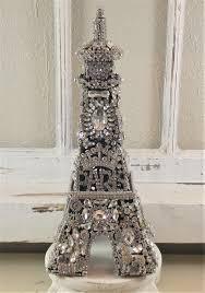 Eiffel Towers For Decoration Ms Bingles Vintage Christmas A Rhinestone Angel A Rhinestone