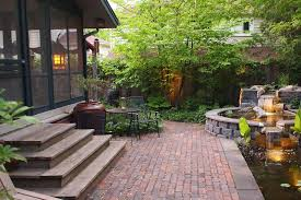 Patio Paver Front Yard Front Yard Fantastic Patio Image Concept Building