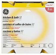 Kitchen And Bath Lighting Ge Lighting 11085 32 Watt T9 Kitchen And Bath Circline Compact