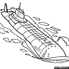submarine coloring pages funycoloring