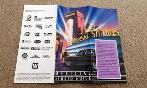 Universal Studios Orlando Interactive Map by Orlando Informer Weekly Dispatch February 10 16 2013