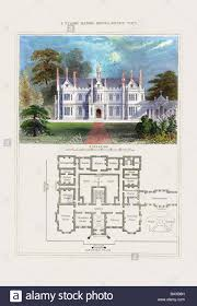 historic tudor house plans tudor manor house henry viii 2 stock photo royalty free image