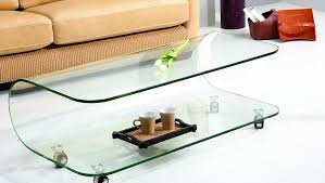 Glass Coffee Table With Wheels Contemporary Coffee Tables Design For Your Living Room Hgnv