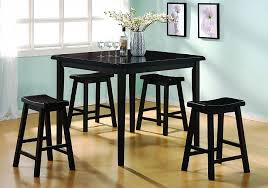 Black Kitchen Table Chairs by Small Black Kitchen Table And Chairs Genwitch