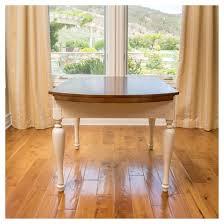 Drop Leaf Oak Table Clearwater Double Drop Leaf Wood Dining Table Dark Oak White