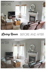 livingroom makeovers my quickandeasy living room before after makeover setting