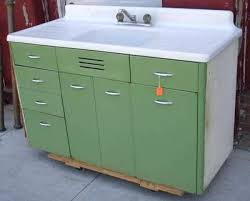 Crosley Steel Kitchen Cabinets by Old White Metal Kitchen Cabinets Retro Metal Kitchen Cabinets