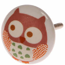 Bedroom Furniture Handles And Knobs Owls Painted Ceramic Door Knobs Childrens Nursery Bedroom