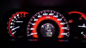 car mileage car mileage screen that s the driving symbol stock footage