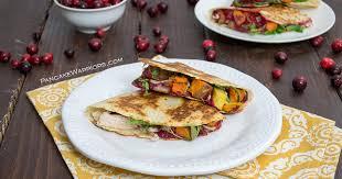 thanksgiving turkey quesadilla bites of wellness