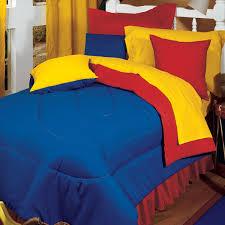 blue twin bedding amazon com karin maki red blue primary color reversible comforter