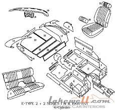 komplett innenausstattung jaguar e type 4 2 2 2 u002768 u002771 2 2 s2