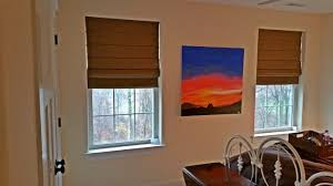Classic Roman Shades - budget blinds quakertown pa custom window coverings shutters