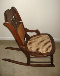 Western Rocking Chair Unusual Wood And Cane Ladies Rocking Chair Collectors Weekly