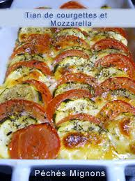 cuisiner des courgettes au four tian de courgettes à la mozzarella péchés mignons