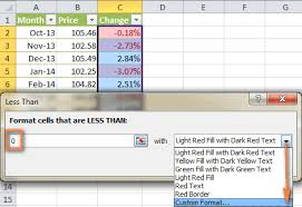 how to use conditional formatting in excel 2016 2013 and 2010
