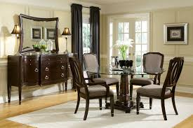 Chic Dining Room Sets Chic Charming Classic Dining Room Set Idea Wooden Glass Round