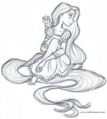 555 tangled images tangled rapunzel drawings