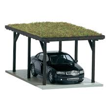 carport with green roof home pinterest green roofs wooden car port with green roof bing images