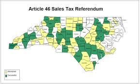 Nc Counties Map Local Option Sales Tax Referenda Ncacc