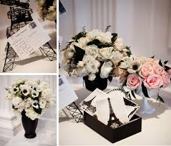 wedding shower themes bridal shower themes chanel or parisian inspiration