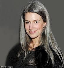 grey hairstyles for younger women why are today s women going grey at 25 daily mail online