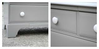 Painting Furniture Black by Southern Color Painted Furniture Grey Changing Table