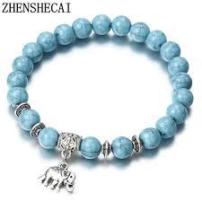 blue bead bracelet images 2018 bracelet classic acrylic blue beaded bracelets for men women jpg