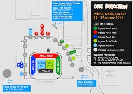 stadio san siro ingresso 8 concerto one direction a san siro informazioni utili ritiro