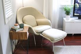 early edition knoll womb chair and ottoman u2014 mid and mod