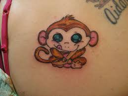 cute baby tattoo designs baby monkey tattoo u2013 funny animal