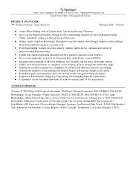 springer program manager resume u0026 cover letter