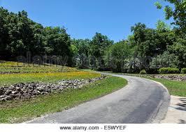 rock tiered hillside forms a natural amphitheater ravine gardens