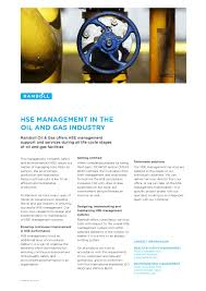 hse management in the oil and gas industry by ramboll issuu