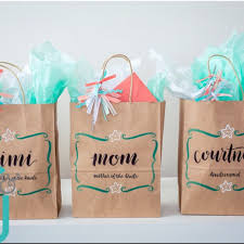 bridal party gift bags bridesmaid gift bags wedding party bags personalized