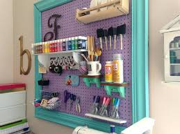 Kitchen Pegboard Ideas Pegboard Accessories For Office Closet Storage And Office