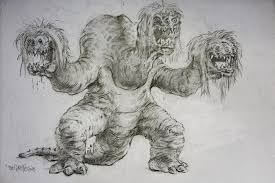 3 sisters monster sketch by thegurch on deviantart