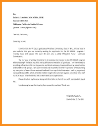 application letter format philippines sle application letter for volunteer nurses in the philippines