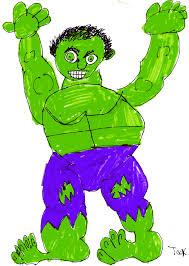 superhero collection u2014 incredible hulk jack draws